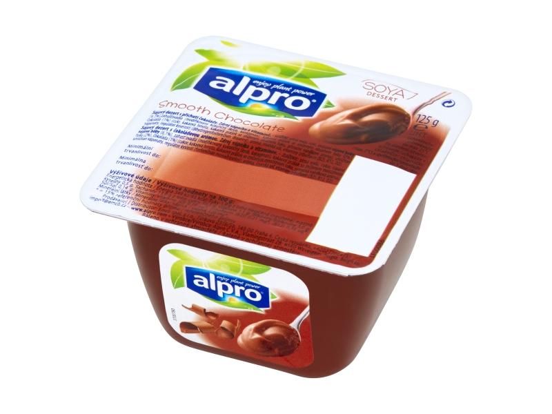Alpro Sójový dezert s příchutí čokolády, 4x125g