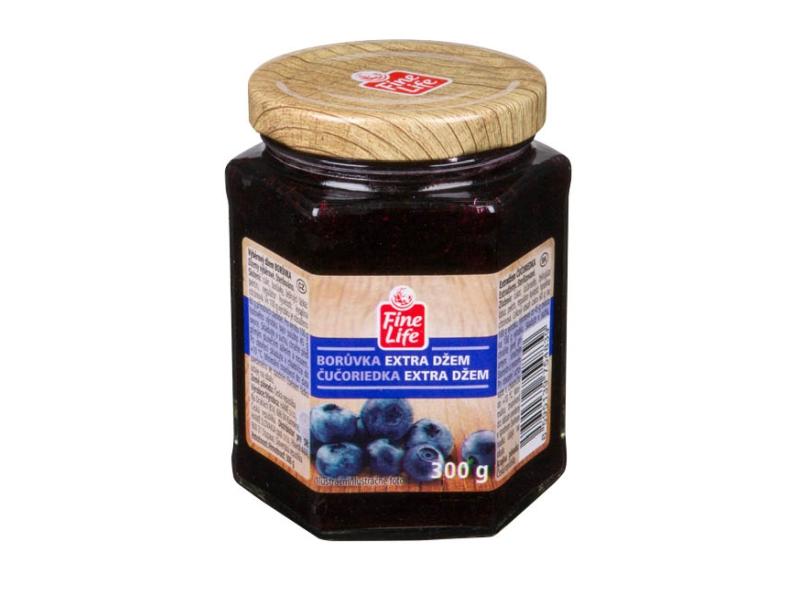 Fine Life Borůvka džem výběrový 300g