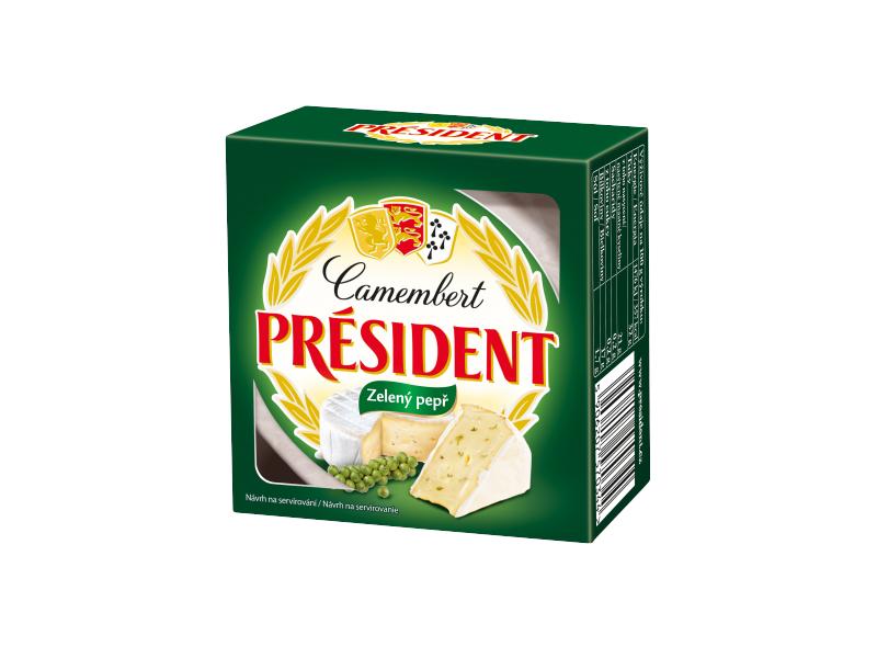 Président Camembert sýr s pepřem 90g