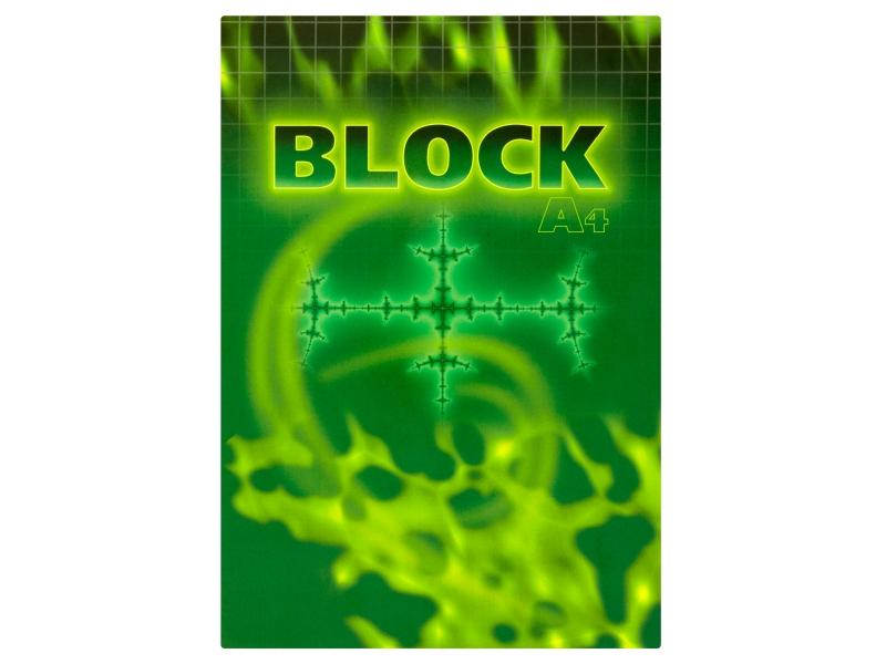 Blok čtverečkovaný A4 50 listů 1ks
