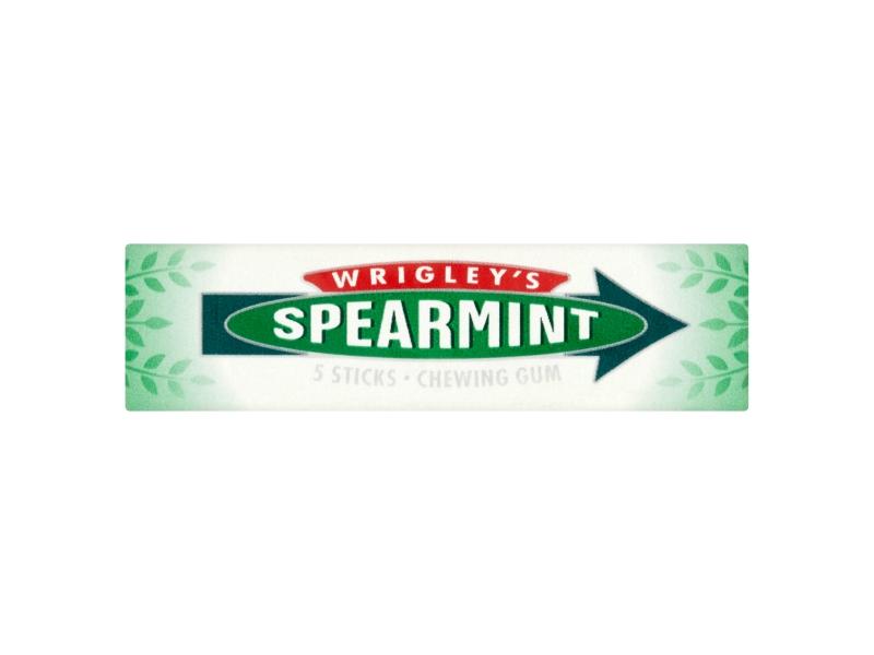 Wrigley´s Spearmint Žvýkačky plátky 13g