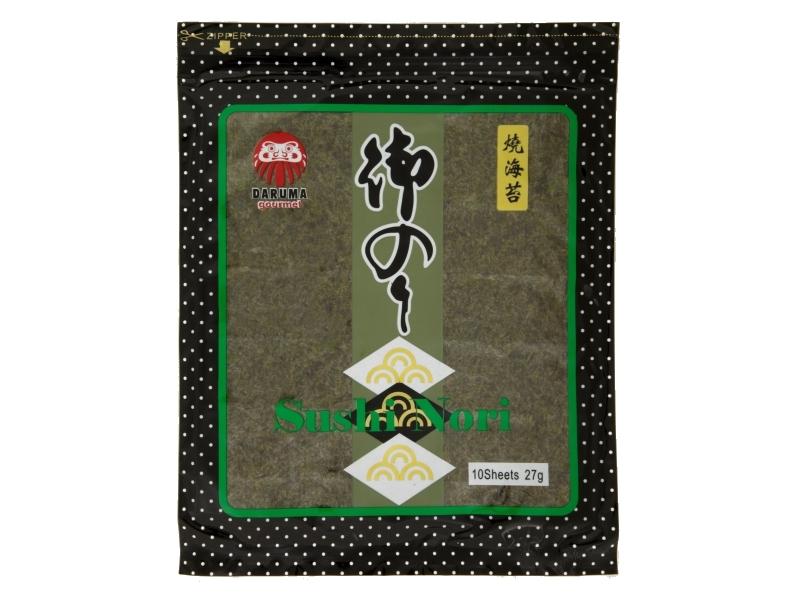 Daruma Gourmet Mořská řasa sušená 10 ks 27g