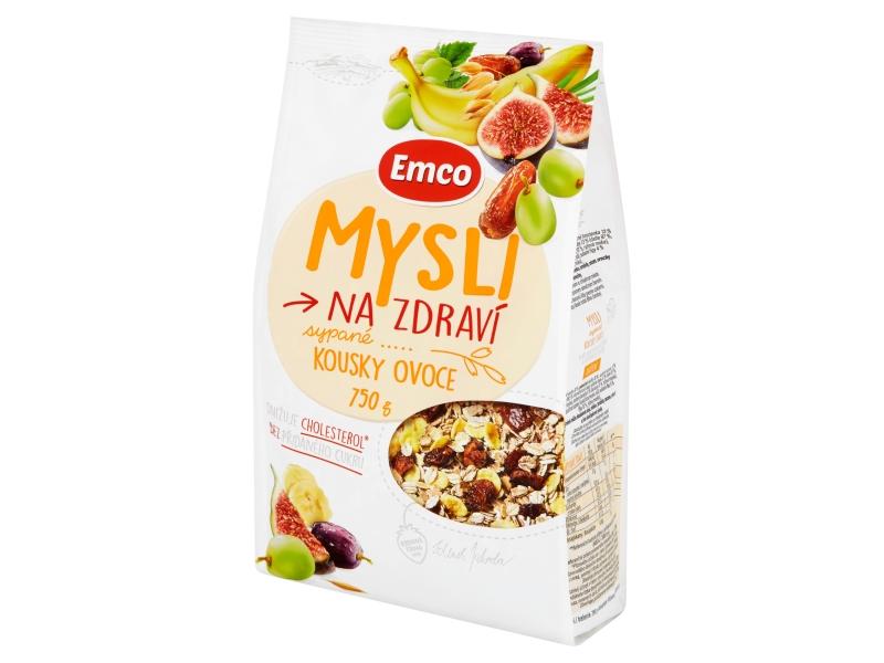 Emco Mysli sypané s kousky ovoce 750g