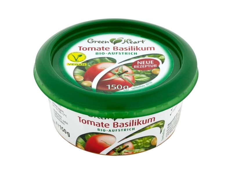 Green Heart pomazánka rajče s bazalkou BIO 150g
