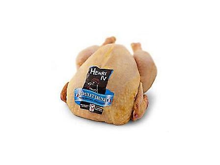 FFF Kukuřičné kuře bez drobů Francie cca 1,5kg