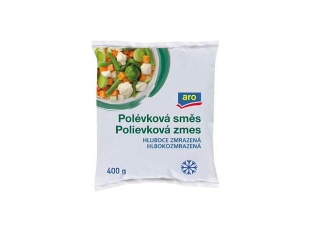 ARO Zeleninová směs polévková mraž. 400g