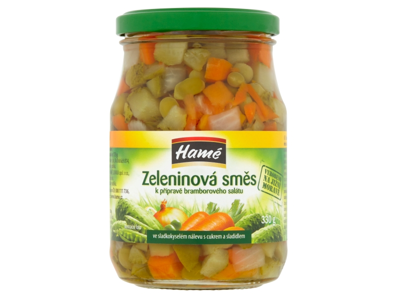 Hamé Zeleninová směs do bramborového salátu 330g