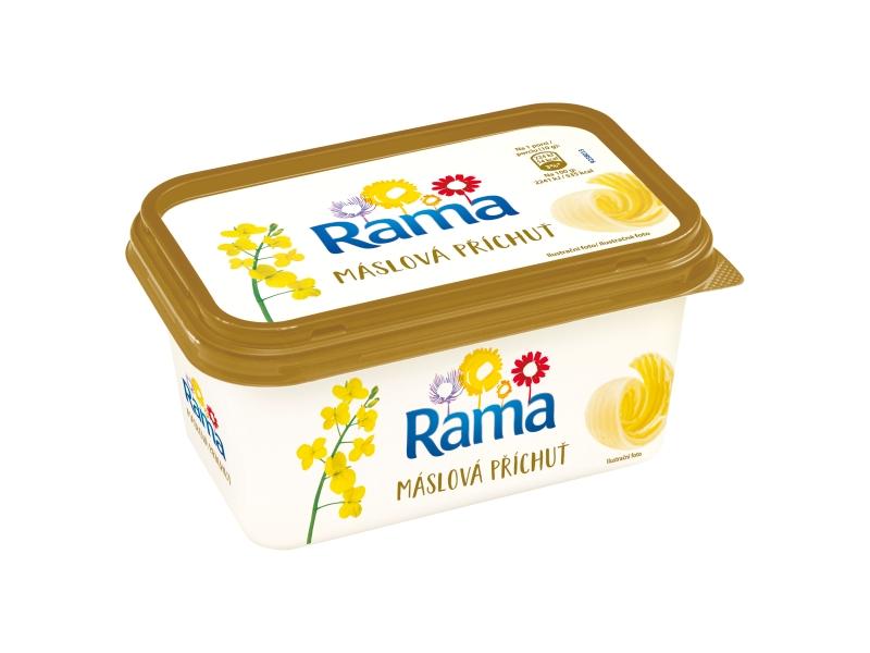 Rama máslová rostlinný margarín 400g