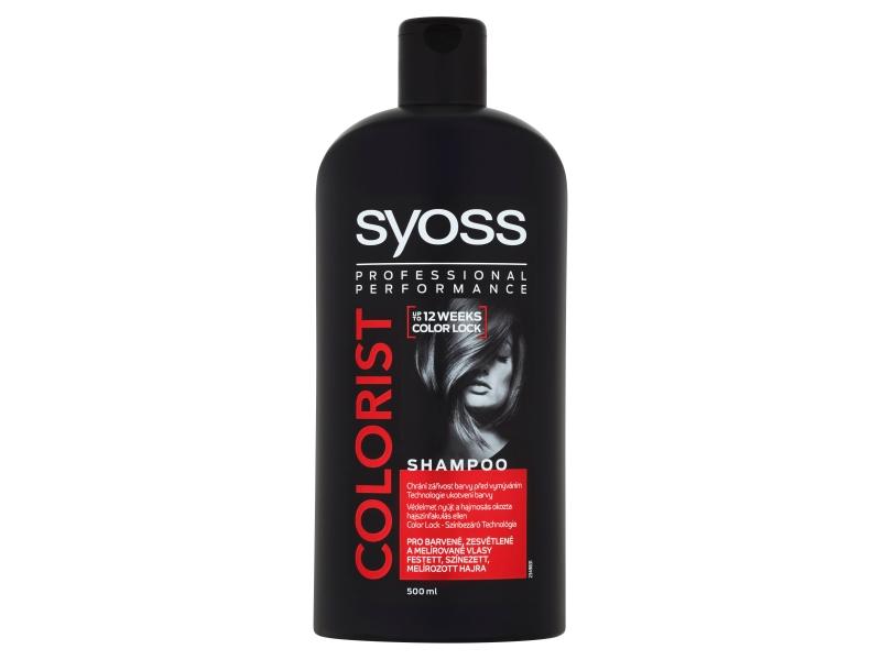 Syoss Colorist šampon pro barvené, zesvětlené a melírované vlasy 500ml