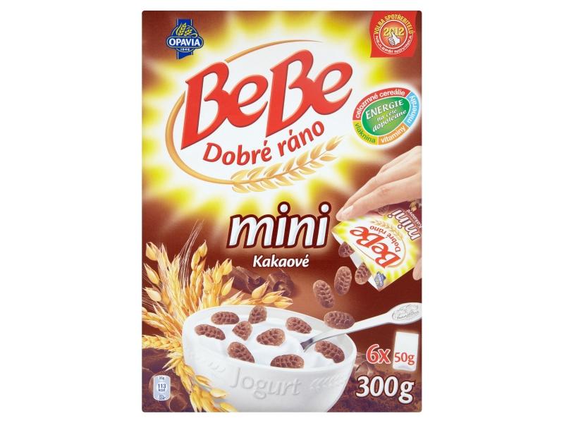 Opavia BeBe Dobré ráno Mini kakaové s čokoládovými pecičkami 6x50g
