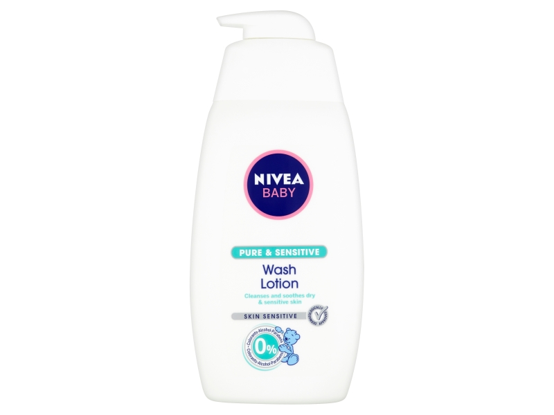 Nivea Baby Pure & Sensitive Mycí gel na tvář a tělo 500ml
