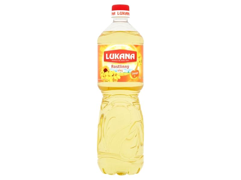 VÝPRODEJ Lukana Rostlinný olej 1l