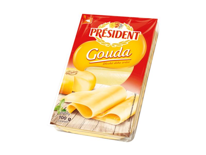 Président Gouda, plátky 100g