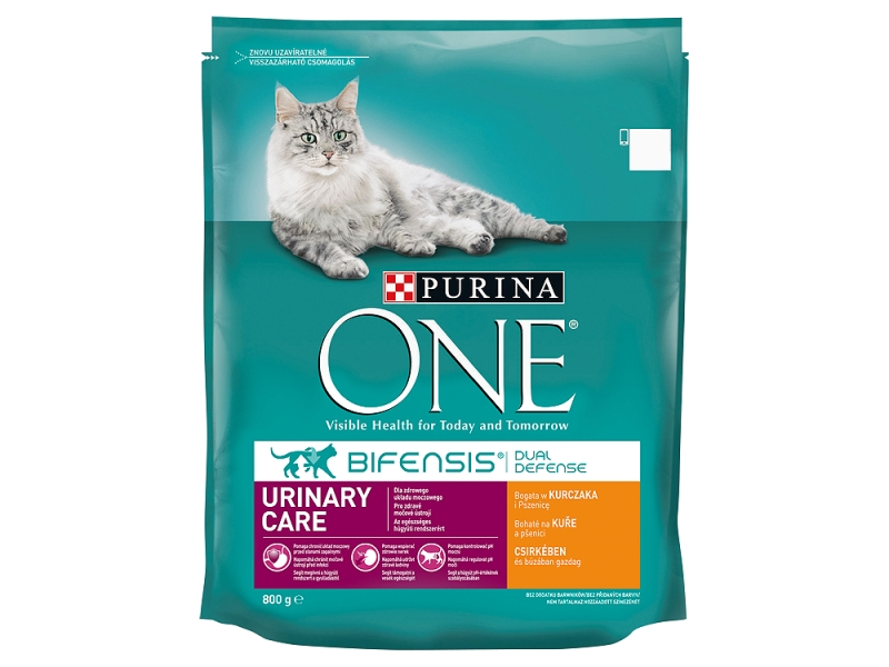 Purina ONE Urinary Care bohaté na kuře a pšenici 800g