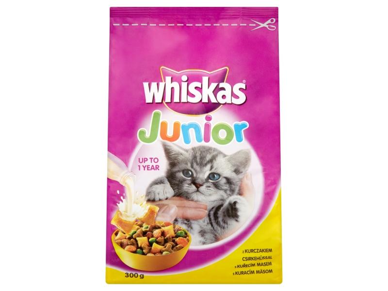 Whiskas Junior Polštářky s kuřecím masem 300g