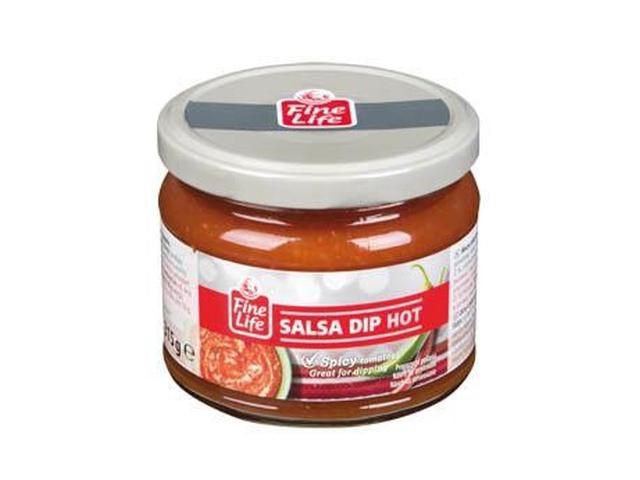 Fine Life Hot salsa dip 315g