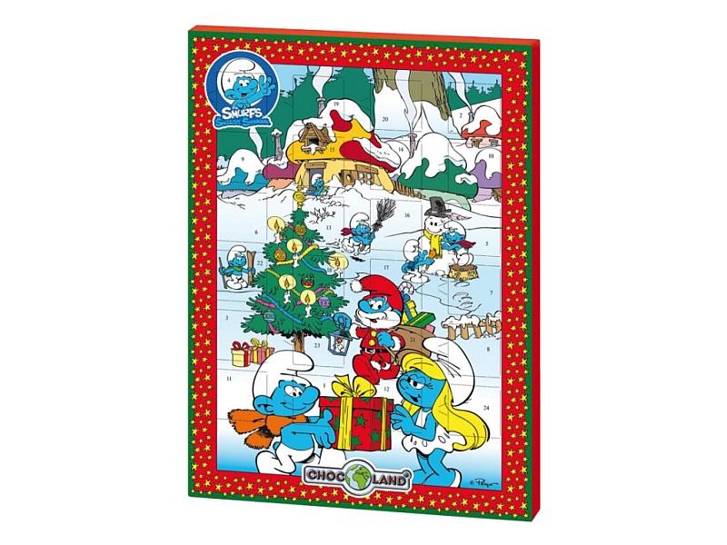 Chocoland Adventní kalendář Šmoulové 75g