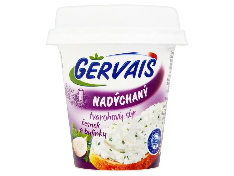 Gervais Nadýchaný tvarohový sýr s česnekem a bylinkami 120g