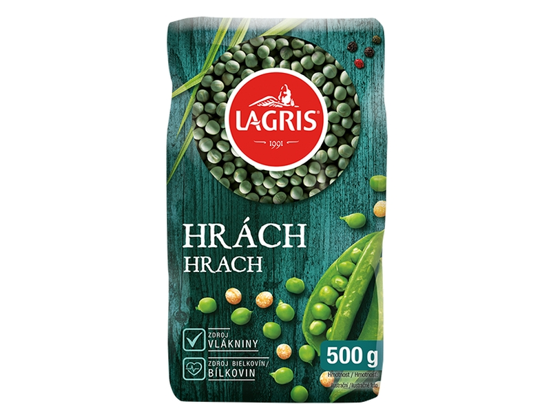 Lagris Hrách zelený celý 500g