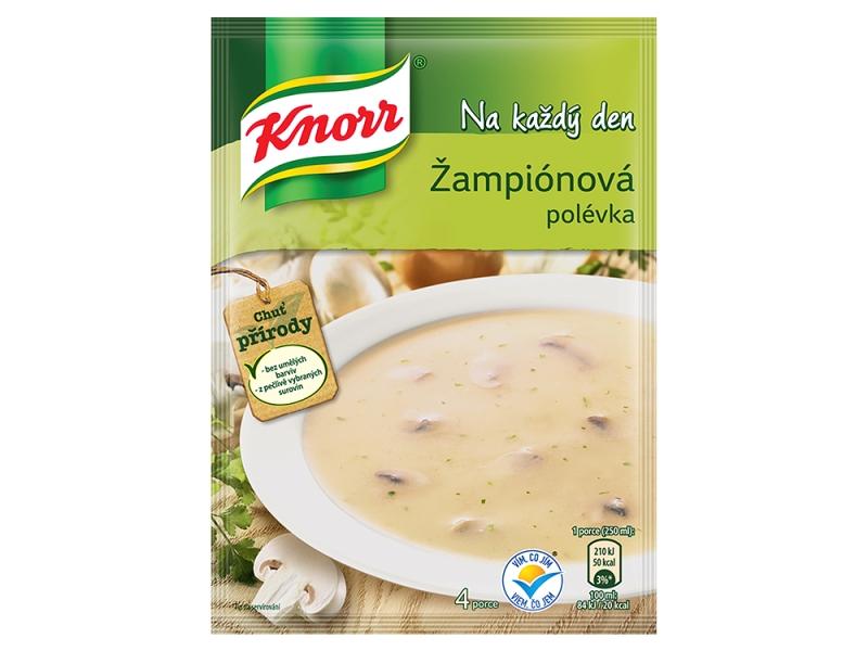 VÝPRODEJ Knorr Žampiónová polévka 56g
