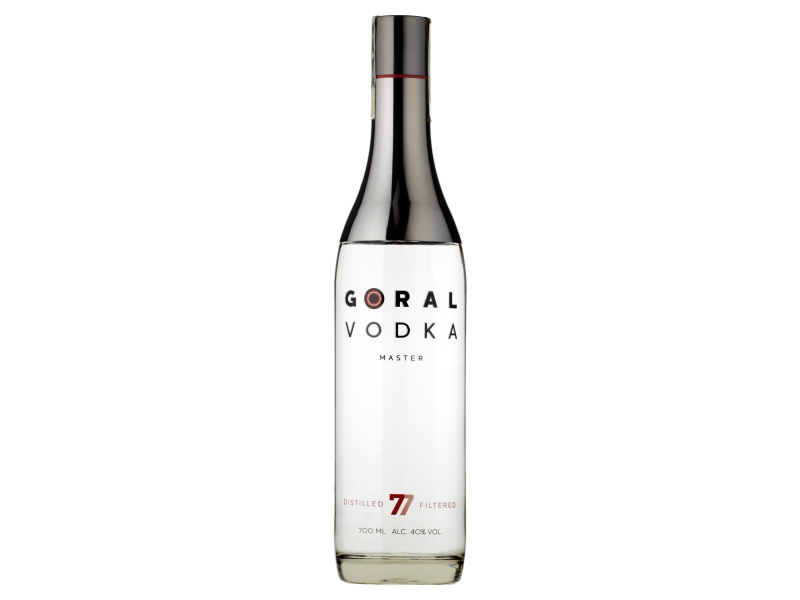 Goral Vodka Master 40% 700ml