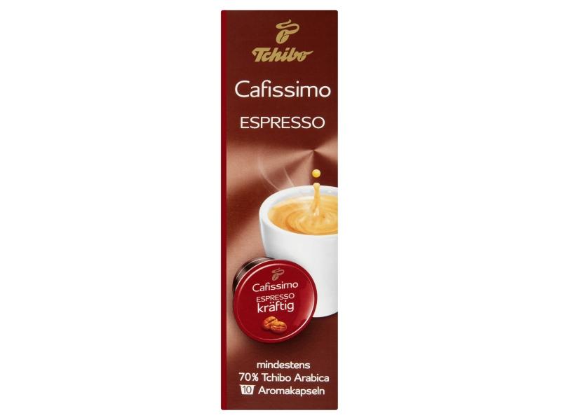 Tchibo Cafissimo Espresso kräftig kapsle 10x7,5g