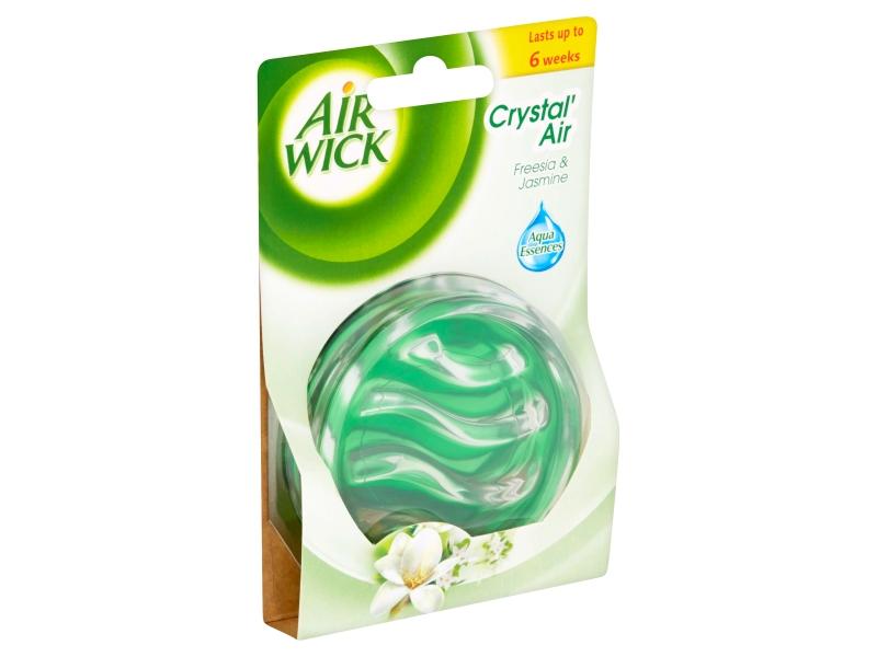 Air Wick Crystal Air Bílé květy - osvěžovač vzduchu 5,21g
