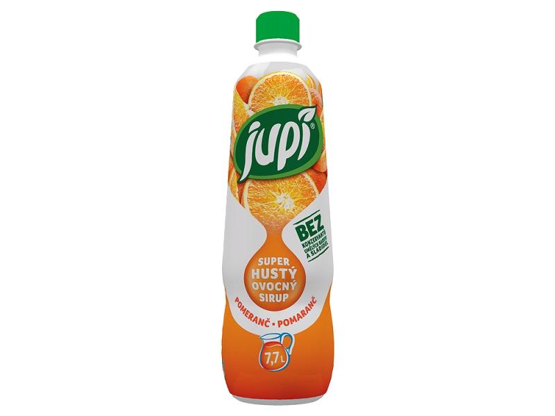 Jupí Superhustý Sirup pomeranč 0,7l