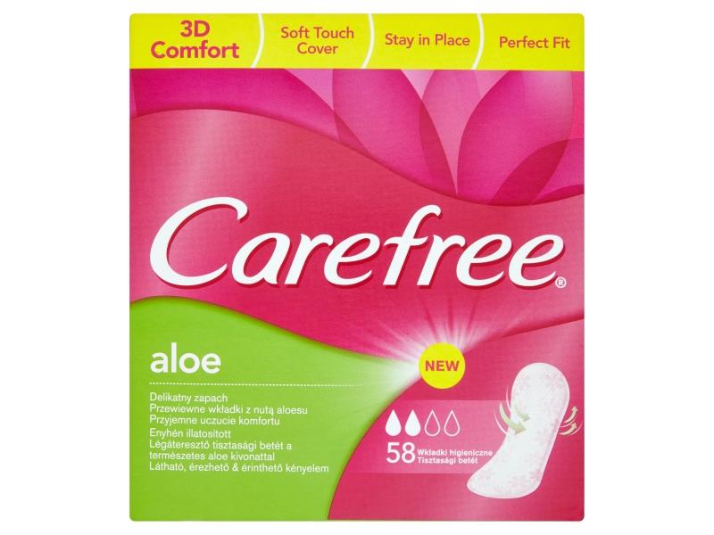 Carefree Aloe slipové vložky 58ks
