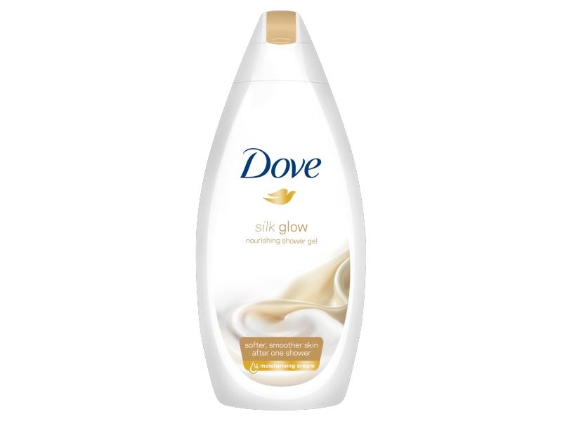 Dove Silk Glow Sprchový gel 500ml