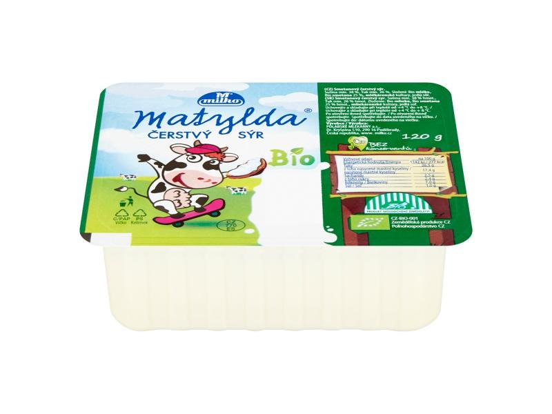 Milko Matylda Bio čerstvý sýr 120g