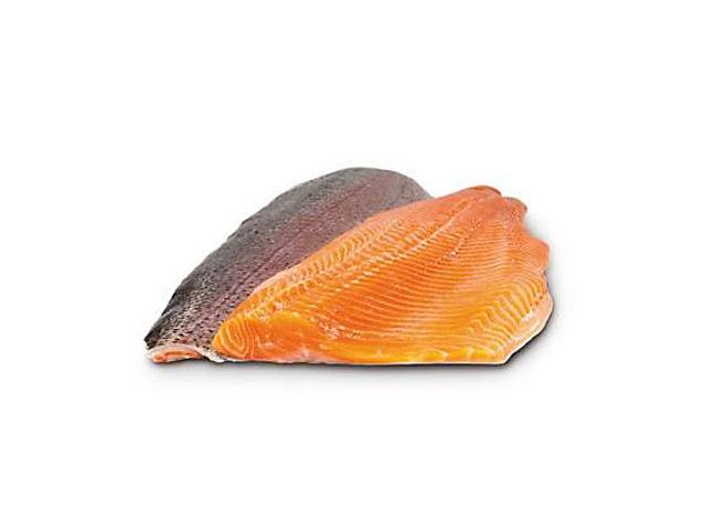 Pstruh duhový lososovitý filet s kůží cca 250g