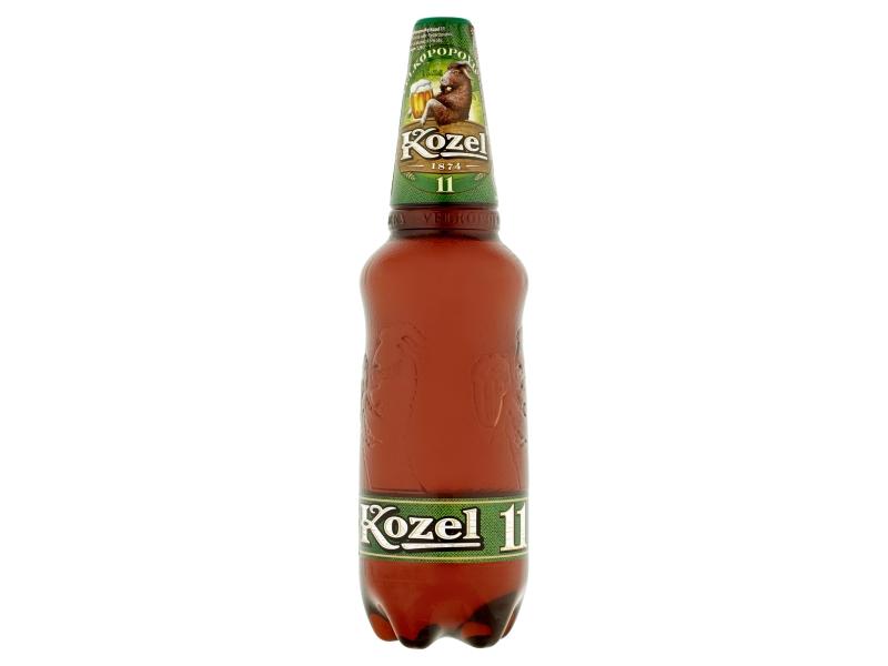 Velkopopovický Kozel 11 pivo ležák světlý 1,25l PET