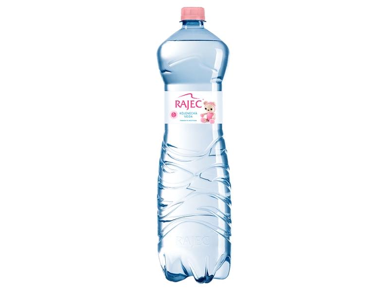 Rajec Kojenecká voda pramenitá nesycená 1,5l