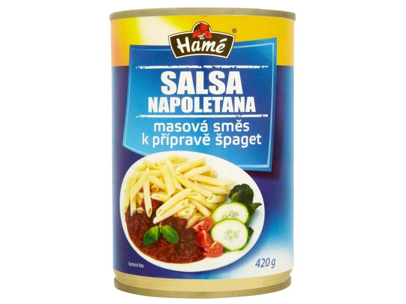 Hamé Salsa Napoletana Masová směs na špagety 420g