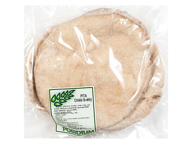 Posidium Pita chléb světlý 5x100g