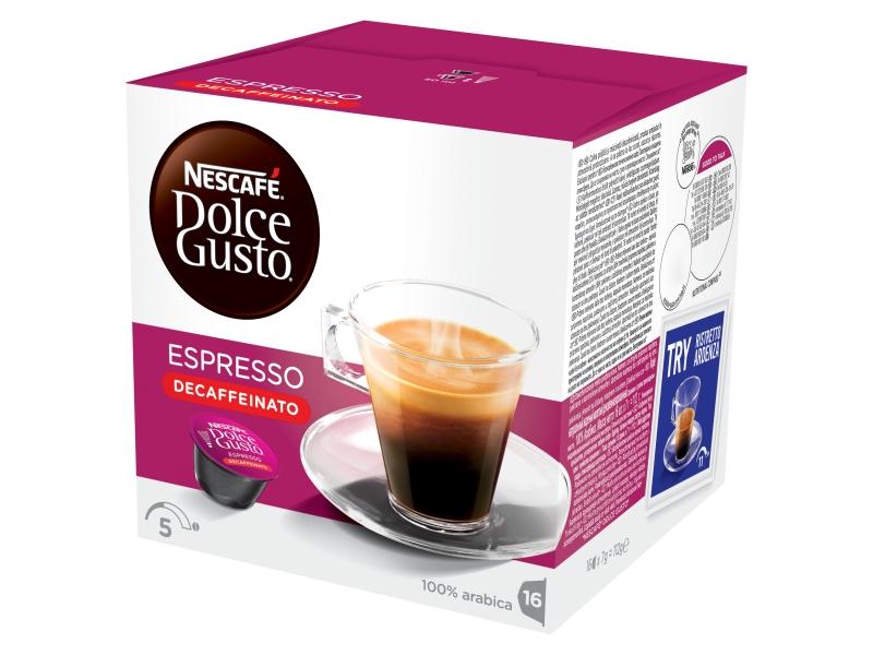 NESCAFÉ DOLCE GUSTO Espresso Bez kofeinu kapsle 16x6g
