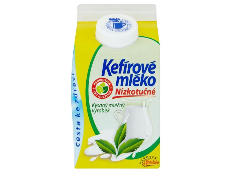 Mlékárna Valašské Meziříčí Kefírové mléko nízkotučné 1,1% 500g
