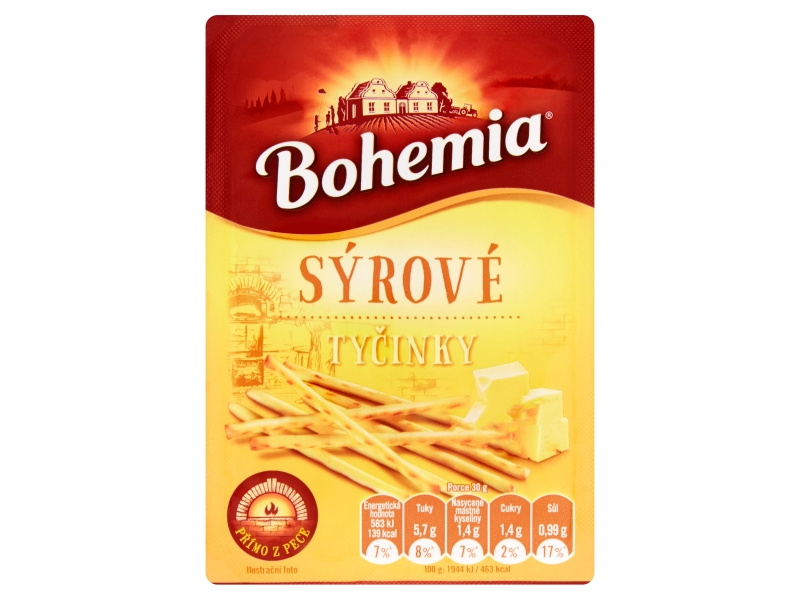 Bohemia Tyčinky sýrové 85g