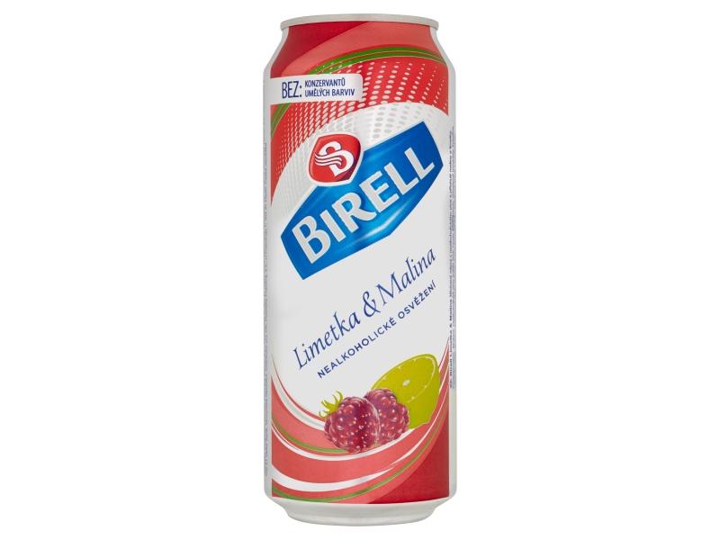 Birell Limetka & Malina nealko pivo 500ml