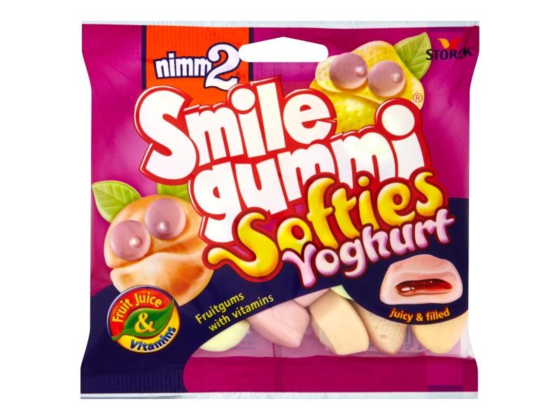 Nimm2 Bonbóny Smile gummi softies yoghurt 90g