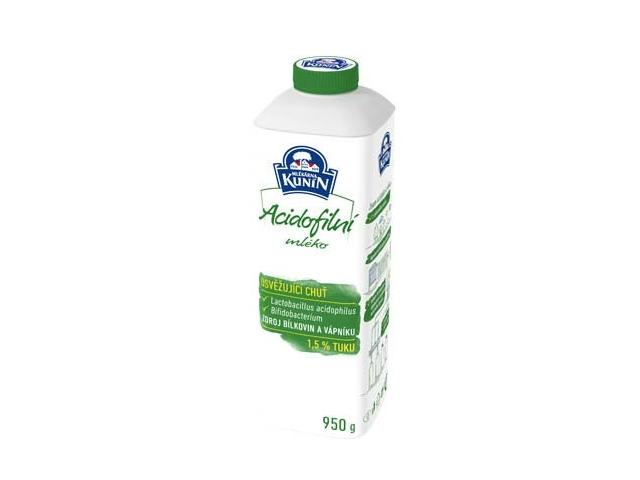 Kunín Acidofilní mléko 950g