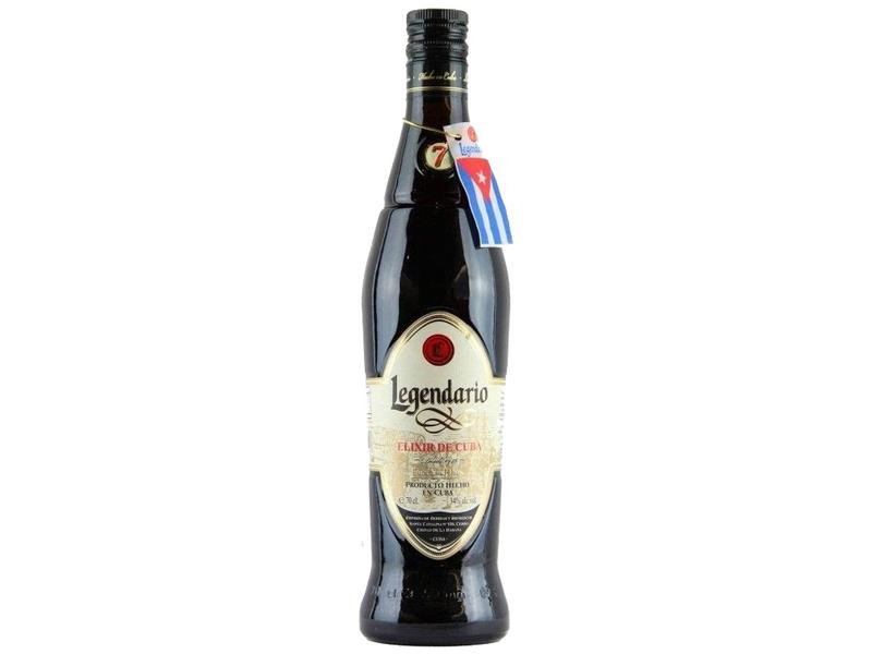 Legendario Elixir de Cuba Hnědý rum 34% 700ml