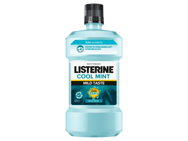 Listerine Zero Mild Mint ústní voda 500ml