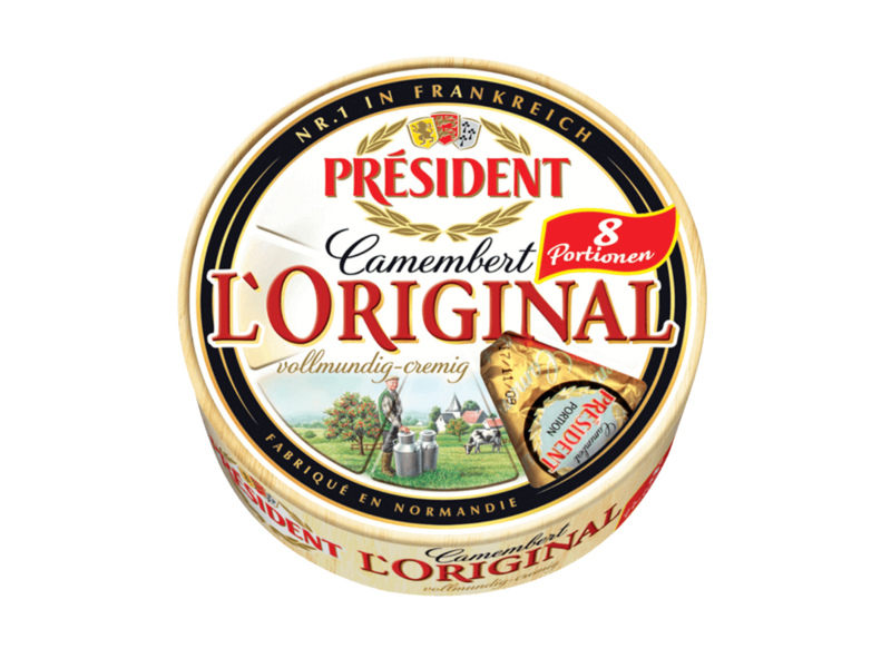 Président Camembert L´Original (8 balených porcí) 250g