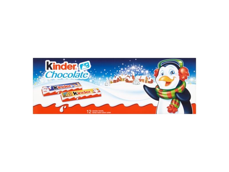 Kinder Chocolate tyčinky z mléčné čokolády s mléčnou náplní 150g