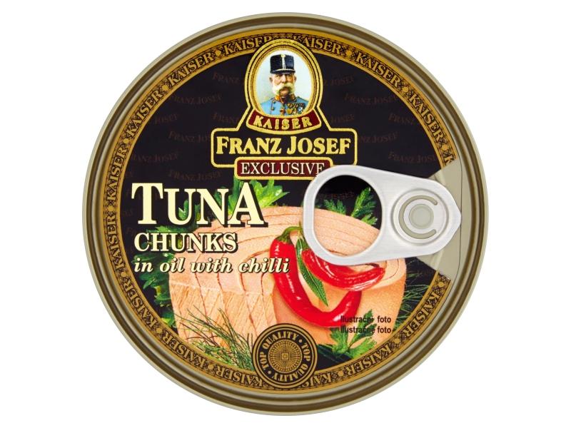 Franz Josef Kaiser Tuňák kousky v oleji s chilli 170g