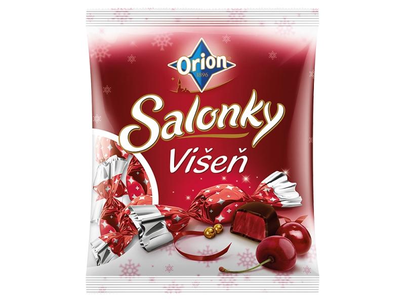 Orion Salonky želé višeň 380g
