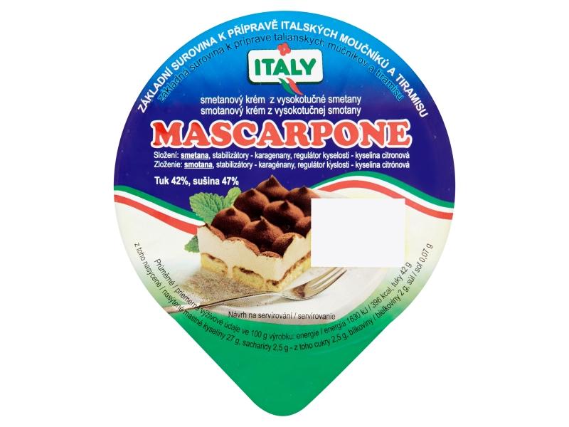 Italy Mascarpone smetanový krém 200g