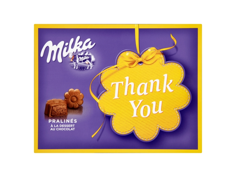 Milka Thank You bonboniéra 120g